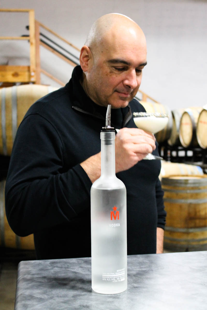 Lee Medoff On Bull Run Distillery